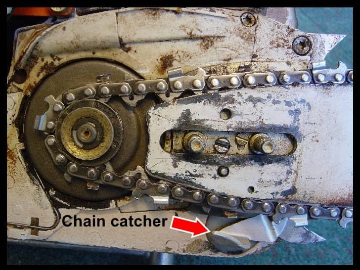 Chainsaw CHAIN CATCHER